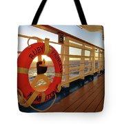 Promenade Deck Tote Bag