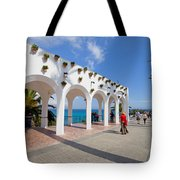 Promenade In Nerja Tote Bag