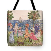 Promenade Tote Bag by Maurice Brazil Prendergast
