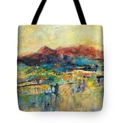 Promise Of Gold Tote Bag