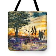 Promising Landscape Tote Bag