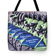 Pronto In Seattle Tote Bag