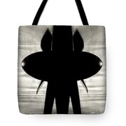 Propeller Abstract Tote Bag