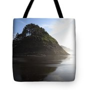 Proposal Rogue Wave Rock - Oregon Coast Tote Bag