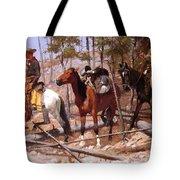 Prospecting For Cattle Range 1889 Tote Bag
