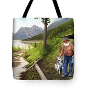 Prospector And Best Friend Tote Bag