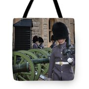 Protecting The Tower Of London Tote Bag