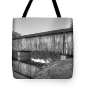 Protection That Works Historic Watson Mill Covered Bridge Tote Bag