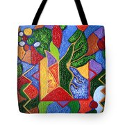 Protection While Project Realization Tote Bag