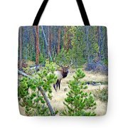 Protective Elk Tote Bag