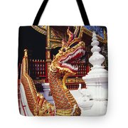 Protective Serpent (naga) Tote Bag
