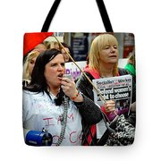 Protest Rally Tote Bag