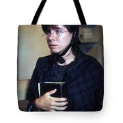 Protestant Woman Tote Bag