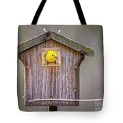 Prothonotary Warbler House Tote Bag