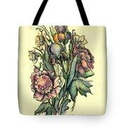 Proud Iris Tote Bag