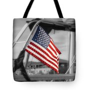 Proud Nautical American  Tote Bag