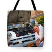 Proud Owner - Faces Of Havana Tote Bag
