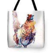 Proud Pheasant  Tote Bag