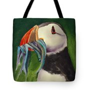 Proud Puffin Tote Bag