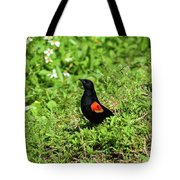 Proud Red-wing Tote Bag