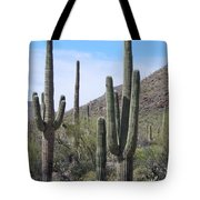 Proud Sahuaros Tote Bag