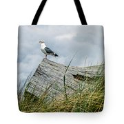 Proud Seagull Tote Bag