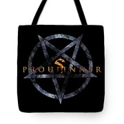 Proud Sinner Tote Bag