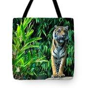 Proud Tiger Tote Bag