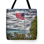 Proudly Waving Tote Bag