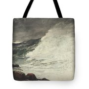 Prouts Neck Breaking Wave Tote Bag