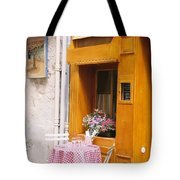 Provence Cafe Tote Bag