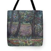 Provence Flowers Tote Bag