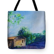 Provence House Tote Bag