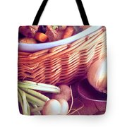 Provence Kitchen Shallots Tote Bag