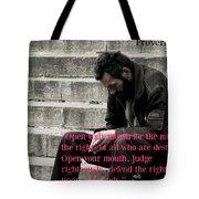 Proverbs103 Tote Bag