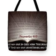 Proverbs106 Tote Bag