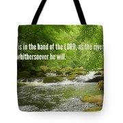 Proverbs107 Tote Bag