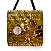 Proverbs117 Tote Bag