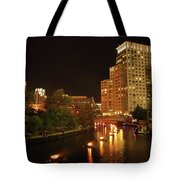 Providence Waterfire Tote Bag