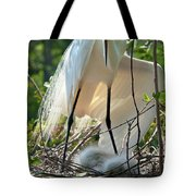 Providing A Little Shade Tote Bag