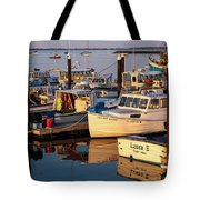 Provincetown Fishing Boats, Ptown, Ma Tote Bag