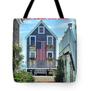 Provincetown Patriot By Sharon Eng Tote Bag