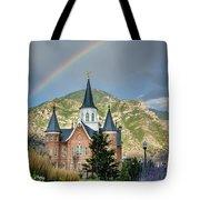 Provo Temple Fairy Tale Tote Bag
