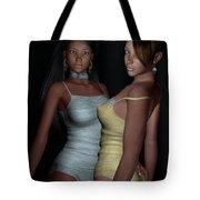 Provocative Flirt Tote Bag
