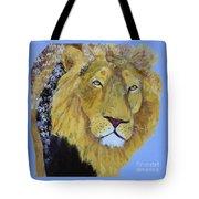 Prowling Lion Tote Bag