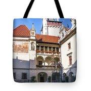 Pruhonice Castle Architecture Tote Bag