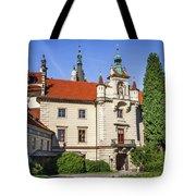 Pruhonice Castle  Tote Bag