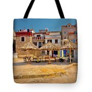 Prvic Luka Waterfront Architecture View Tote Bag