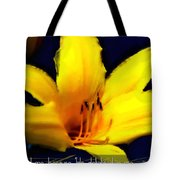 Psalm 18 19 Tote Bag