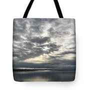 Psalm 19 Tote Bag